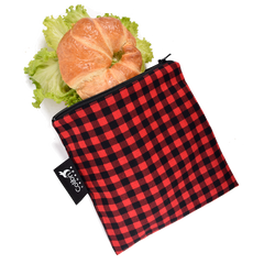 Colibri Plaid Reusable Large Snack Bags Litterless Lunch Item