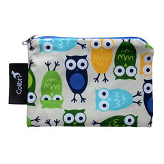 Colibri - Reusable Small Snack Bags Owls