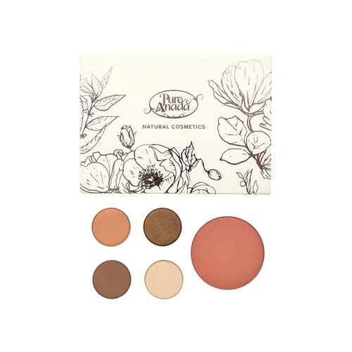Pure Anada - Demure Compact Palette All Things Being Eco Chilliwack Canadian Made Mineral Makeup