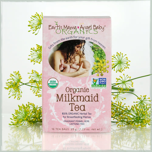 Earth Mama Angel Baby Organic Milkmaid Tea for Nursing Mothers