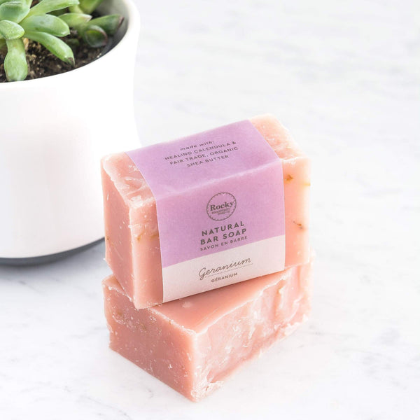 Rocky Mountain Soap Company - Geranium Soap