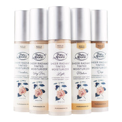 Pure Anada Tinted Moisturizer Collection