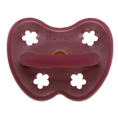 Hevea - Watermelon Natural Rubber Flowers Orthodontic Pacifier All Things Being Eco Chilliwack Sustainable Kids Soothers