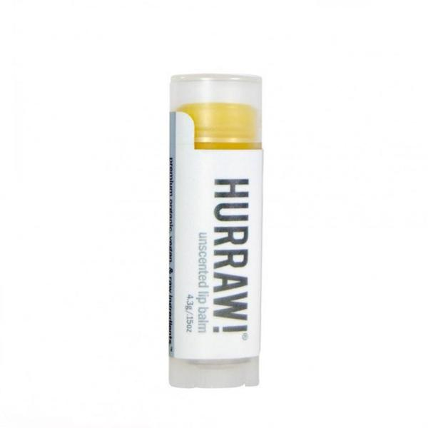 Hurraw! Non-Gmo Unscented Lip Balm