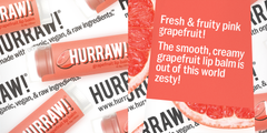 Hurraw - Vegan Grapefruit Lip Balm