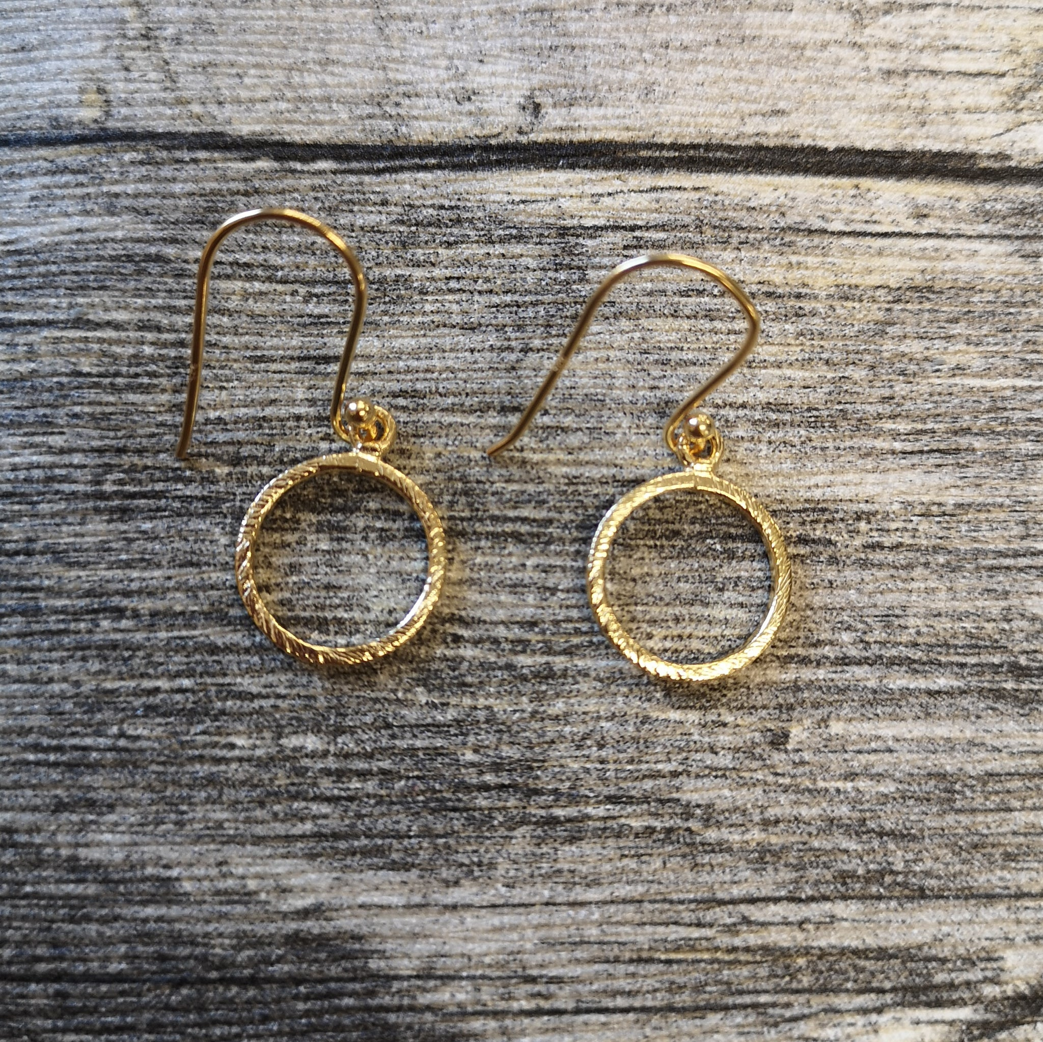 Kala Collection - Circle Earrings