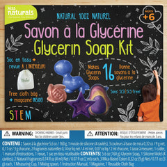 Kiss Naturals - DIY Glycerin Soap Kit Creative Home School Projects All Things Being Eco