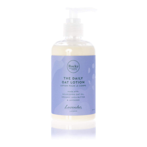 Rocky Mountain Soap Company - The Daily Oat Lotion Lavender