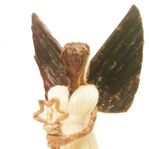 Maisha Christmas Sisal Angel with Star