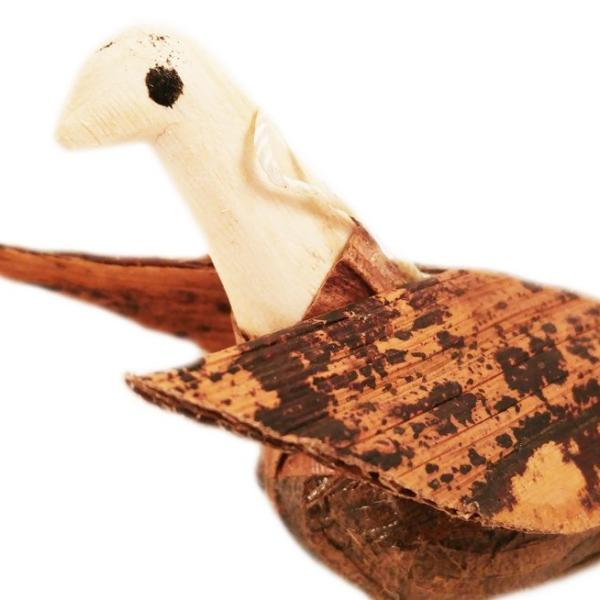 Maisha Fair Trade Red Sisal Dove Ornament