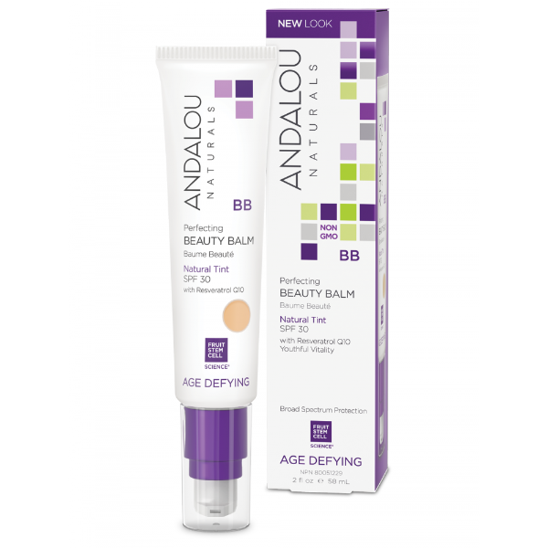 andalou naturals PERFECTING BB BEAUTY BALM NATURAL TINT SPF 30