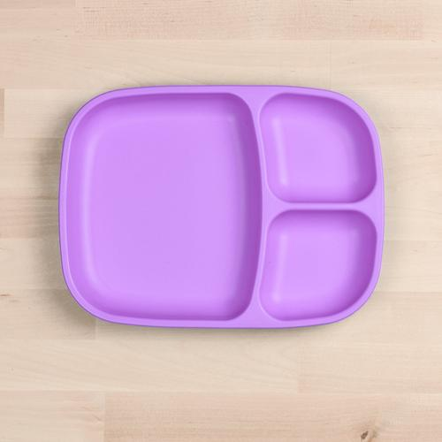 Re-Play Purple Large Divided Plate