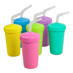 Re-Play - Straw Cup With Lid & Straw