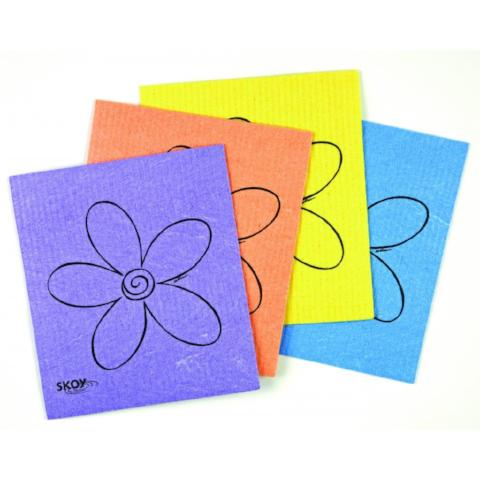 Skoy Biodegradable Set of 4 Skoy Cloths