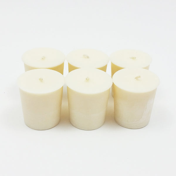 e3 Naturals - Simplicity Essential Oil Scented Soy Wax Votive Candles