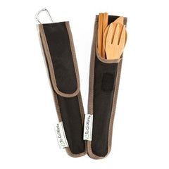 To Go Ware Zero Waste RePEat Bamboo Utensil Set Black