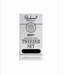 Rockwell Razors - Tweezer Set- all things being eco Chilliwack- Vegan leather