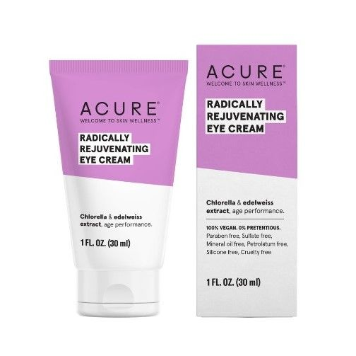 Acure - Radically Rejuvenating Eye Cream Natural Anti-Aging Skin Care Products