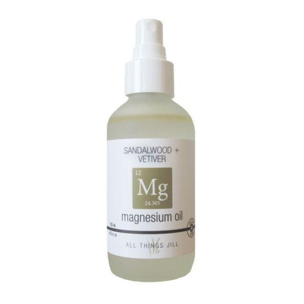 All Things Jill - Magnesium Oil Body Spray Simply Sandalwood + Vetiver