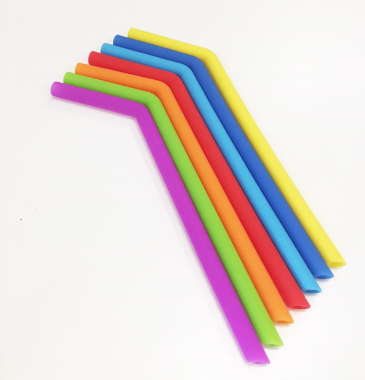All Things Jill - Silicone Reusable Straws