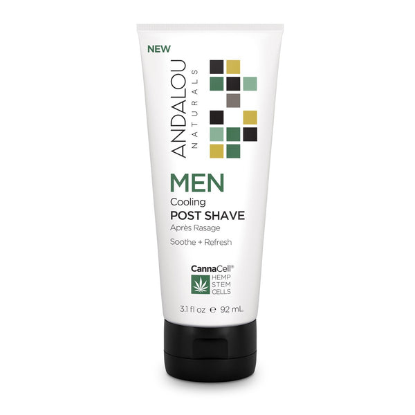 Andalou Naturals - Men's Cannacell Cooling Post Shave All Things Being Eco Chilliwack Men's Skincare