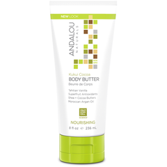 Andalou Naturals - Kukui Cocoa Body Butter Cruelty Free