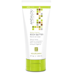 Andalou Naturals - Kukui Cocoa Body Butter