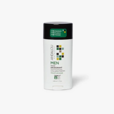 Andalou Naturals - Men's CannaCell Mountain Sage Deodorant
