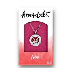 AromaLocket - Aromatherapy Locket Mini All Things Being Eco Chilliwack Lotus