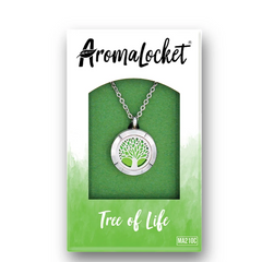AromaLocket - Aromatherapy Locket Mini All Things Being Eco Chilliwack Tree of Life