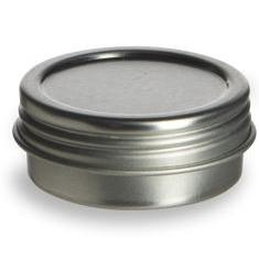 All Things Being Eco - Flat Tin With Screwtop Lid .5oz Zero Waste Chilliwack