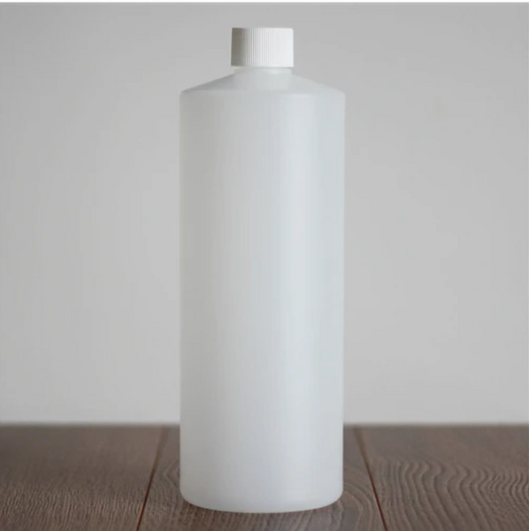 All Things Being Eco - 1 Litre HDPE Cylinder Bottle With Cap