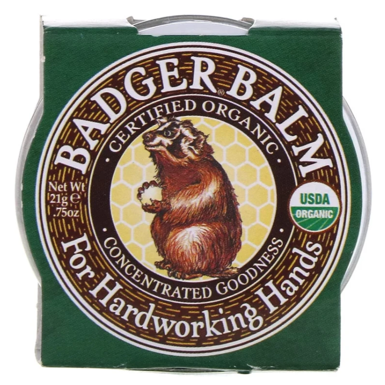 Badger - Badger Balm For Hardworking Hands 21g All Things Being Eco Chilliwack