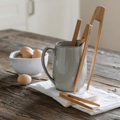 Bambu - Bamboo Tongs Biodegradable Kitchen Utensils All Things Being Eco