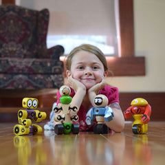 BeginAgain - Tinker Totter Robots Sustainable Toys
