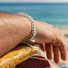 4Ocean - Beluga Whale Bracelet All Things Being Eco Chilliwack Jewellery Store Eco Friendly