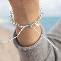 4Ocean - Beluga Whale Bracelet All Things Being Eco Chilliwack Jewellery Store