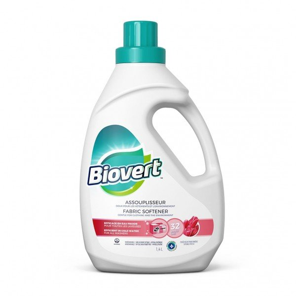 Bio-Vert - Spring Fresh Fabric Softener 1.4l Non Toxic Laundry Products All Things Being Eco