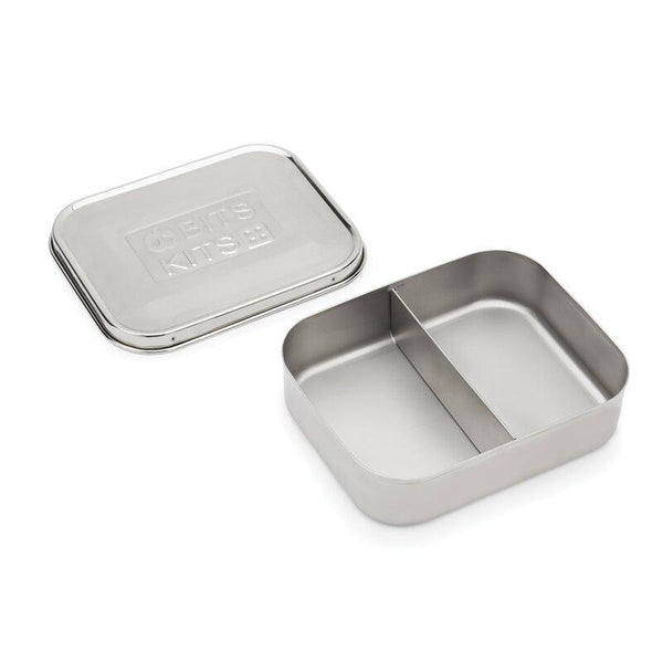 Bits Kits - Stainless Steel 2 Section Bento Container All Things Being Eco Chilliwack