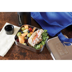 Bits Kits - Stainless Steel 2 Section Bento Container All Things Being Eco Chilliwack Litterless Lunch Ideas