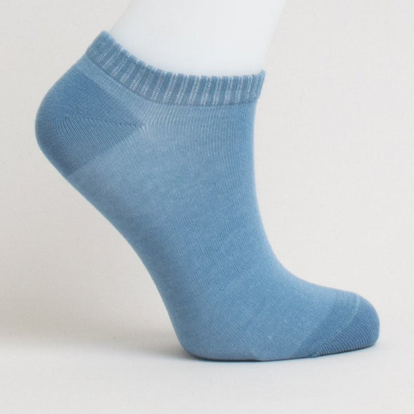 Blue Sky - Ladies Bamboo Ankle Sock Natural Footwear All Things Being Eco