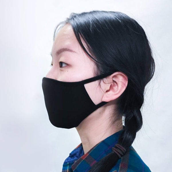 Blue Sky - Bamboo Reusable Fabric Face Masks