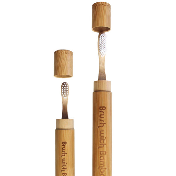 Brush With Bamboo - Bamboo Toothbrush Travel Case