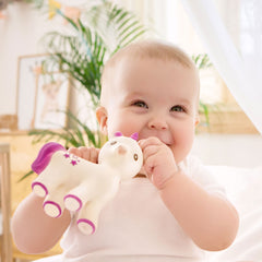 Caa Ocho - Mira The Unicorn Natural Rubber Teething Toy