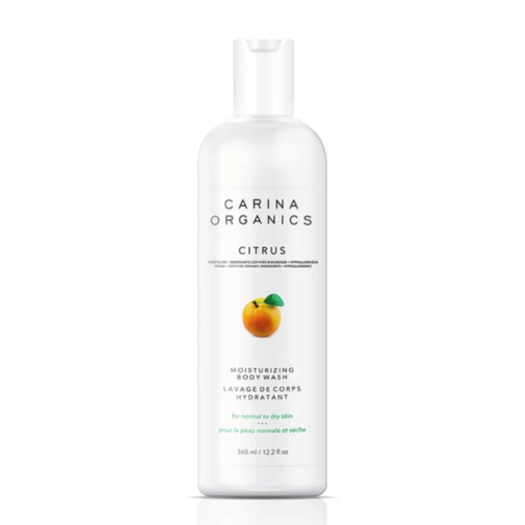 Carina Organics - Citrus Moisturizing Body Wash