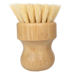 No Tox Life - Dish and Vegetable Hand Brush Moso Bamboo and Agave Fibers