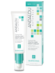 Andalou Naturals - Quenching - Coconut Milk Youth Firm Night Cream organic skincare