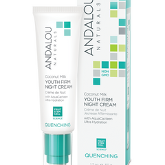 Andalou Naturals - Quenching - Coconut Milk Youth Firm Night Cream