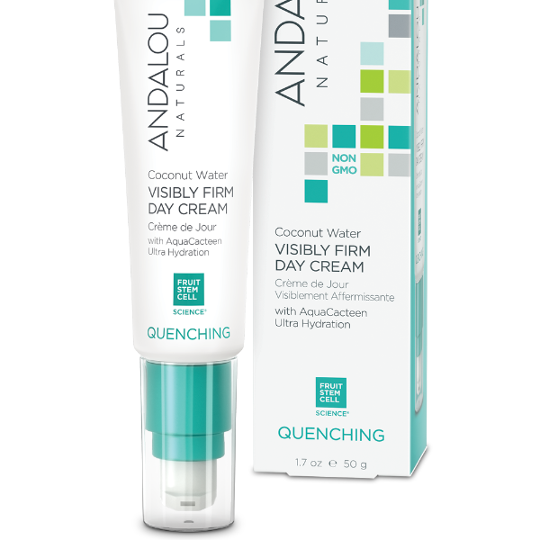 Andalou Naturals - Quenching - Visibly Firm Day Cream