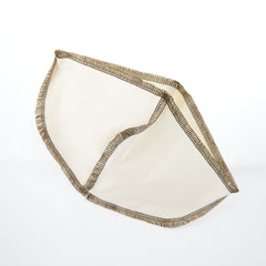 Coffee Sock - Traditional Basket Coffee Filter All Things Being Eco Zero Waste Living Organic Cotton
